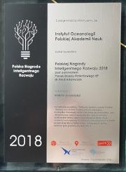 Polska Nagroda Inteligentnego Rozwoju 2018_FindFish i WaterPuck