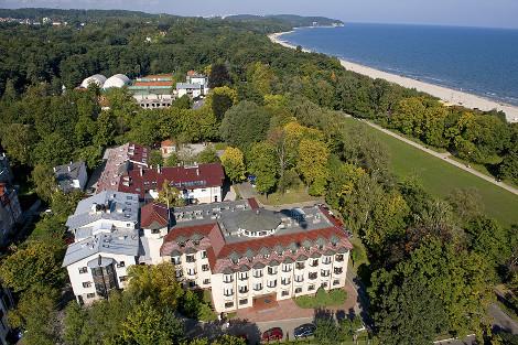 Instytut Oceanologii Polskiej Akademii Nauk  – widok z loty ptaka