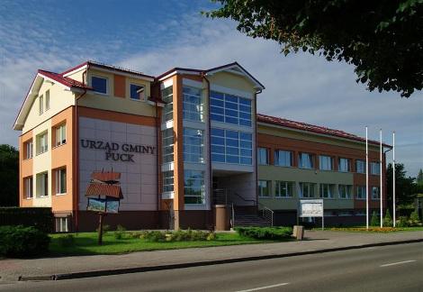 Budynek urzędu gminy Puck